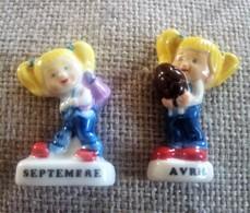 2 Fèves Collection Septembre Et Avril La Fournée Dorée 2011 - Other