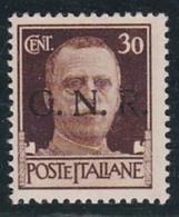 1943 Italia RSI Italy R.S.I. POSTA ORDINARIA 30 Cent. Bruno (N.475) MNH** - 4. 1944-45 Social Republic