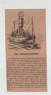 Bateaux Phares Feu TSF Casse Cou Dunkerque Calais Havre 1 - Old Paper