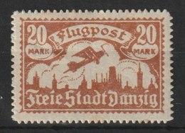Danzig / Flugpostmarken (III) / MiNr. 118 - Deutschland