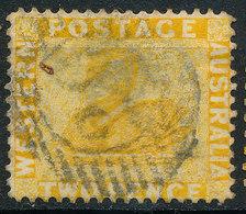 Stamp Australia 2p Used Lot41 - 1854-1912 Western Australia