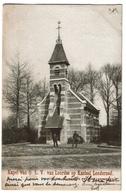 Kapel Van O.L.V Van Lourdes Op Kasteel Londerzeel - 1908 - Uitg. Caluwaerts Peeters Londerzeel - 2 Scans - Londerzeel