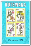 Botswana 1974, Postfris MNH, Flowers, Christmas - Botswana (1966-...)