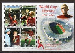 GIBRALTAR   Timbres Neufs **  De 2002  ( Ref 5273 )  Sport - Football - Gibraltar