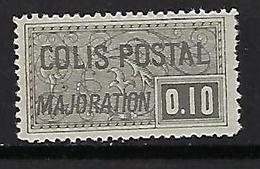 "FR Colis Postaux YT 155 "" Majoration 10c. Noir "" 1938 Neuf** - Paketmarken"