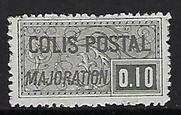"""FR Colis Postaux YT 155 """" Majoration 10c. Noir """" 1938 Neuf** - Colis Postaux"""