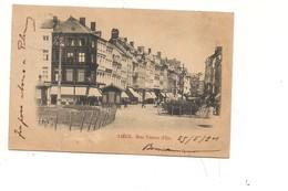 $3-5571 BELGIO LIEGI LIEGE 1901 VIAGGIATA FRANCOBOLLO ASPORTATO - Liège