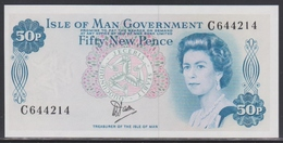 Isle Of Man 50 New Pence (ND 1979) UNC - [ 4] Isle Of Man / Channel Island