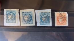 28.04.18-A VOIR§§ Beau Lot ,depart 1€!! - 1870 Bordeaux Printing