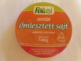 Cheese Queso Kase Label Etikette Etiqueta Hungary Falusi Natur Nature BOX - Quesos