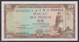 Macau 10 Patacas 12.05.1984 UNC - Macau