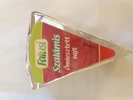 Cheese Queso Kase Label Etikette Etiqueta Hungary Falusi Salami Szalami - Quesos