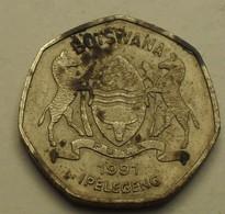 1991 - Botswana - 1 PULA - KM 24 - Botswana