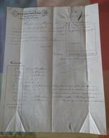 LOT De DOUZE  Lettres Du XIXème Siècle Dont 2 Factures, à Gap (Hautes-Alpes).1850 à 1870... - France