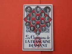 Carte Postale Vélo Les Champions Sur Cycles LA FRANÇAISE-DIAMANT - Pneus Dunlop - Cyclisme