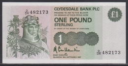 Scotland 1 Pound 18.09.1987 UNC - [ 3] Scotland