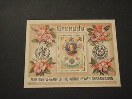 GRENADA - BF 1973 0MST/FIORI - NUOVI(++) - Grenada (...-1974)