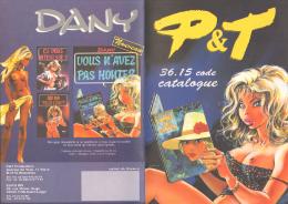 DANY GELUCK MARSUPILAMI ROSINSKI Catalogue P&T - Autres Objets BD