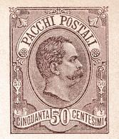 Catania 1888 Umberto I Bullettino Di Spedizione Pacchi Postale Augusta Italia Colis Postal - 1878-00 Umberto I