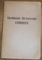 Grammaire-Dictionnaire Comorien - Dictionaries