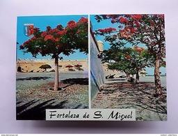 LUANDA FORT FORTRESS Postcard 1960years AFRICA AFRIKA AFRIQUE ANGOLA Z1 - Angola