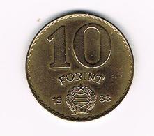 /  HONGARIJE  10 FORINT  1983 - Hongrie