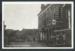+++ CPA - Photo Carte - Foto Kaart - Pays Bas - VOLLENHOVE - Kerkplein Met Stadhuis // - Steenwijk
