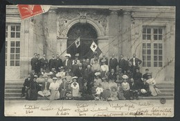 +++ CPA - ESPERANTO - Groupe Esperantiste - 1907   // - Esperanto