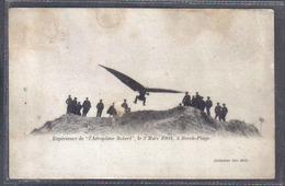 Carte Postale Aviation Avion Aéroplane  Expérience L'aéroplane Robert à Berck-plage - ....-1914: Précurseurs