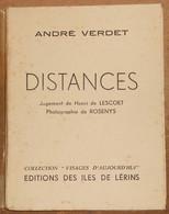 Distances - Livres Dédicacés
