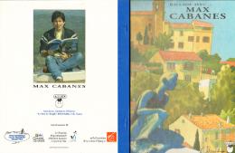 CABANES : Livre Illustré BALLADE AVEC MAX CABANES 1998 - Livres, BD, Revues