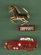 FERRARI 250GTB + LOGO FERRARI *** A006 - Ferrari