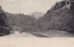 AO80 In Via Gellia, Matlock Bath - 1904 Hold To Light Postcard - Derbyshire
