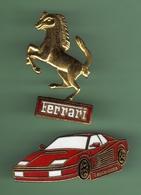 FERRARI TESTAROSSA + LOGO FERRARI *** A006 - Ferrari