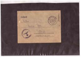 DE2035   -   PLOEN   29.5.1943     /     FELDPOST  BRIEF - Covers & Documents