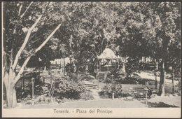 Plaza Del Principe, Tenerife, Islas Canarias, C.1905 - Nobrega U/B Tarjeta Postal - Tenerife