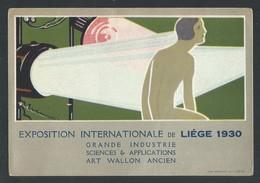 +++ CPA - Exposition Internationale De LIEGE 1930 - Art Déco - Industrie - Art Wallon  // - Liege