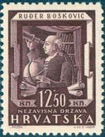 Bošković , R. - Croatia 1943 - Michel # 2149 ** MNH - Mathematics, Mathematician, Physics, Physicist, Astronomy - Sciences