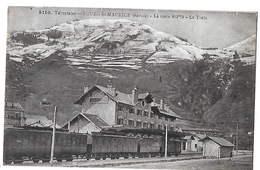 73 - BOURG SAINT MAURICE  - Train Dans La Gare     N - Bourg Saint Maurice