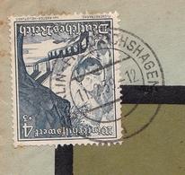 Lettre 1939 Deutschland Luftpost Albert Hoffmann Berlin Friedrichshagen - Germany