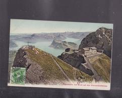 SUISSE ,LUCERNE  , PilatusKulm Mit Bich Auf Den Verwaldstattersee - LU Lucerne