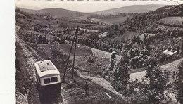 LACAUNE LES BAINS :CPSM.P.F CRANTEE DE 1956.LIGNE LACAUNE-CASTRES.L AUTORAIL.RARE.T.B.ETAT.PETIT PRIX. COMPAREZ!!! - Autres Communes