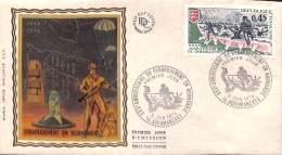 NB- [405153] FDC-France  - (14) Abromanches, XXXè Anniversaire Du Débarquement En Normandie, Militaria - Militaria