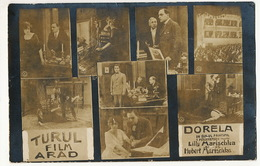 Real Photo Arad Turul Film Silent Movie Lilly And Hubert Marischka In Dorela P. Used - Roumanie