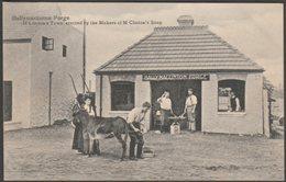 Ballymaclinton Forge, Franco-British Exhibition, 1908 - Postcard - Exhibitions