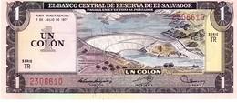 El Salvador P.125 1 Colon 1977   Unc - El Salvador