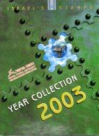 ISRAEL - ANNEE 2003 COMPLETE - NEUFS ** LUXE/MNH Dans Son Livret D'origine De La Poste D'Israël - Israel