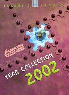 ISRAEL - ANNEE 2002 COMPLETE - NEUFS ** LUXE/MNH Dans Son Livret D'origine De La Poste D'Israël - Israel