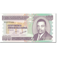 Billet, Burundi, 100 Francs, 2011, 2011-09-01, KM:44b, NEUF - Burundi