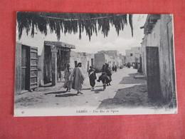 > Tunisia--- Gabes Une Rue De Djara--  Has Stamp & Cancel Ref 2939 - Tunisia